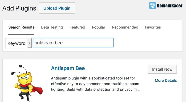 mejor plugin anti spam bee wordpress