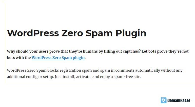 best free anti spam plugin wordpress 2018