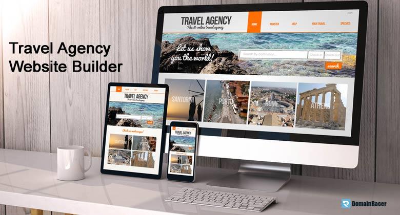 travel agency website builder goals examples