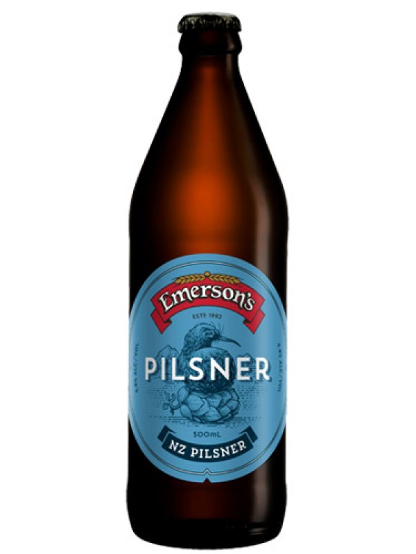 Emersons NZ Pilsner 330 ml 6 pack