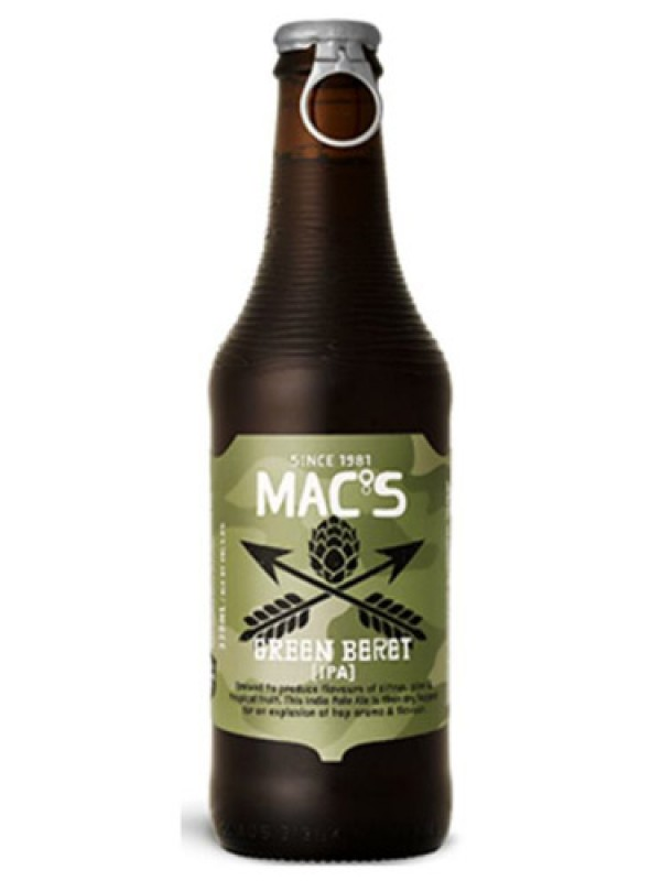 Mac's Green Beret 330 ml 12 pack