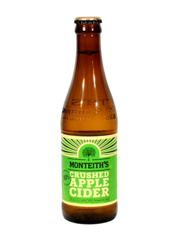 Monteith's Crushed Apple Cider – 12 Pack