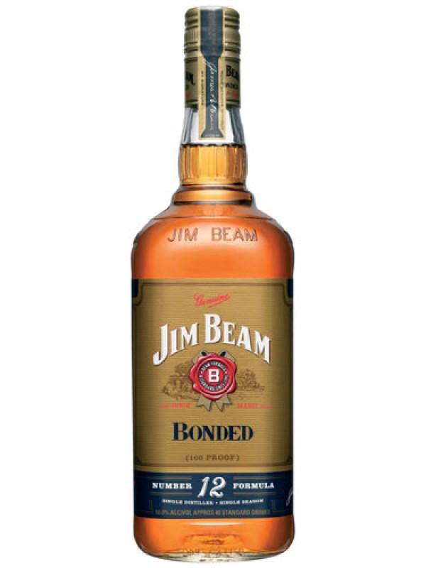 Jim Beam Bonded Bourbon Whiskey – 1 Litre