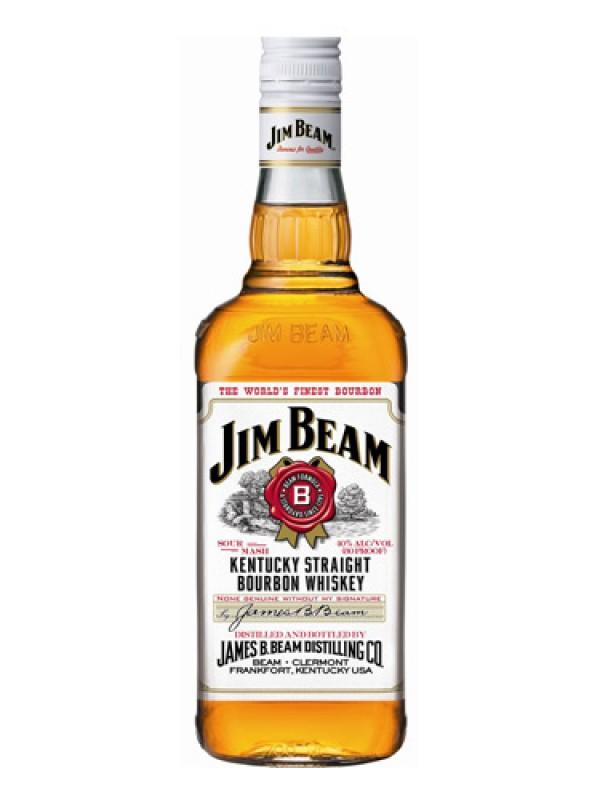 Jim Beam Bourbon Whiskey – 1 Litre