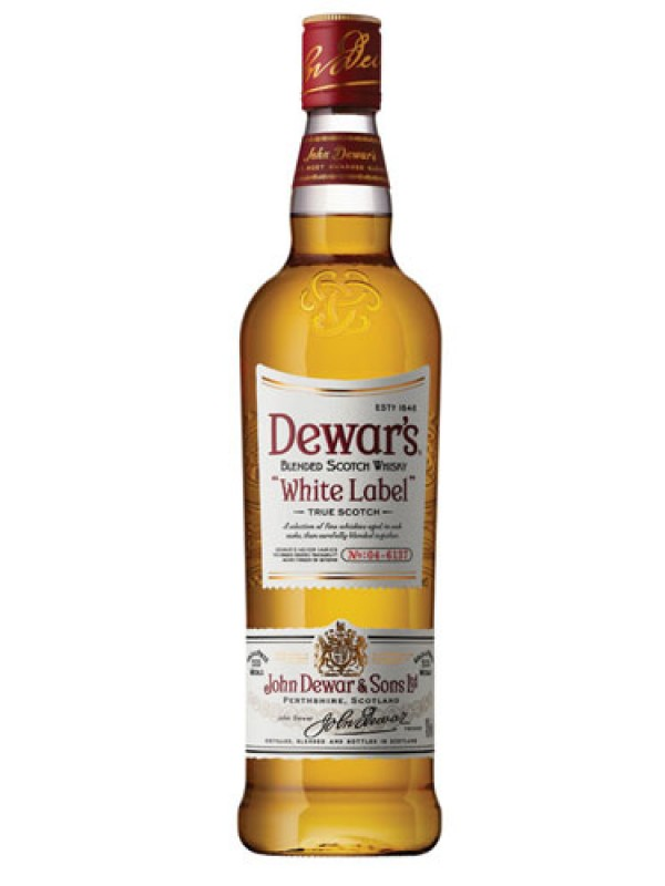 Dewar's White Label Scotch Whisky – 1 Litre