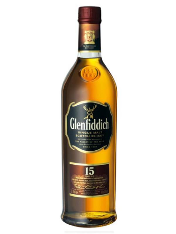 Glenfiddich 15 Years Old Single Malt Whisky – 700ml