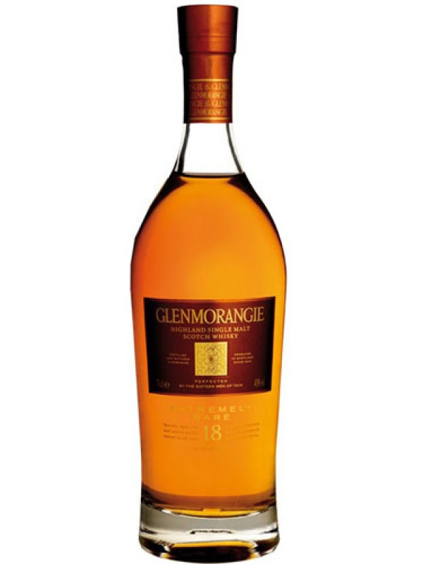 Glenmorangie 18 Year old Extremely Rare Single Malt Whisky 750ml