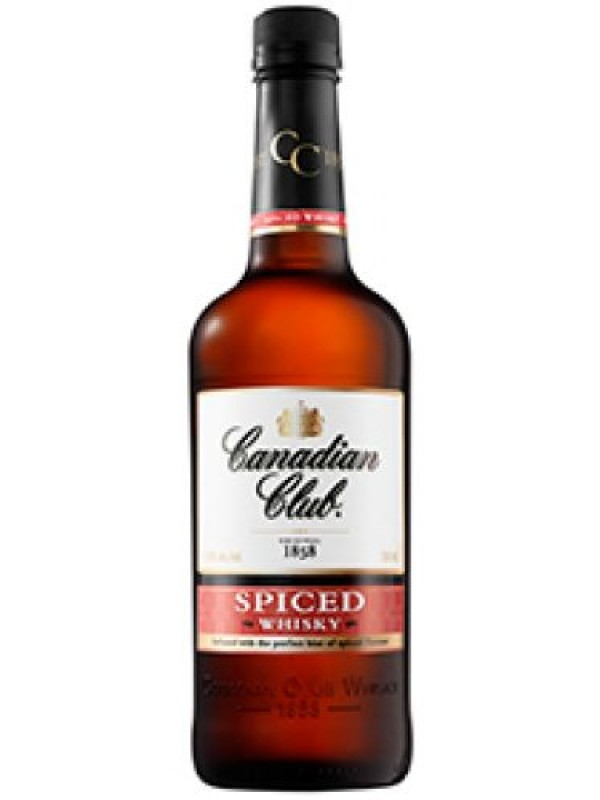Canadian Club Spiced Whisky 1 litre