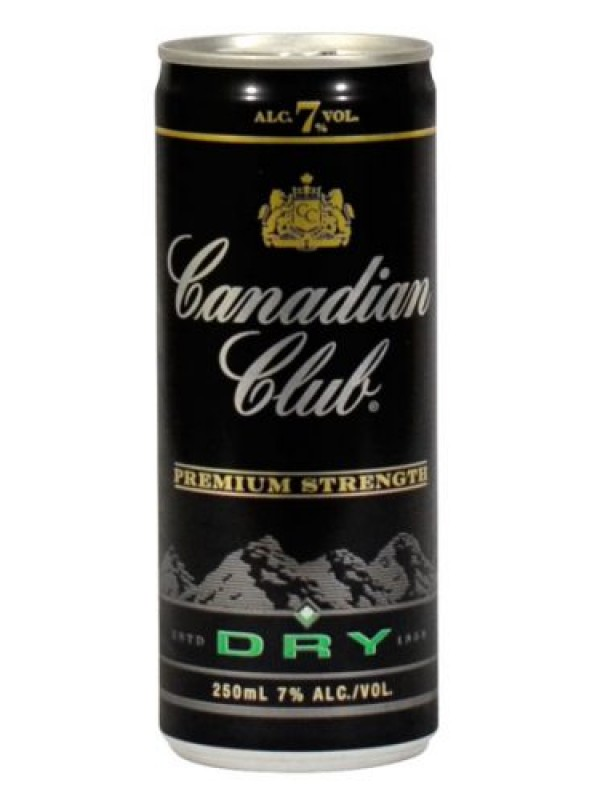 Canadian Club 7% 250 ml 12 pack