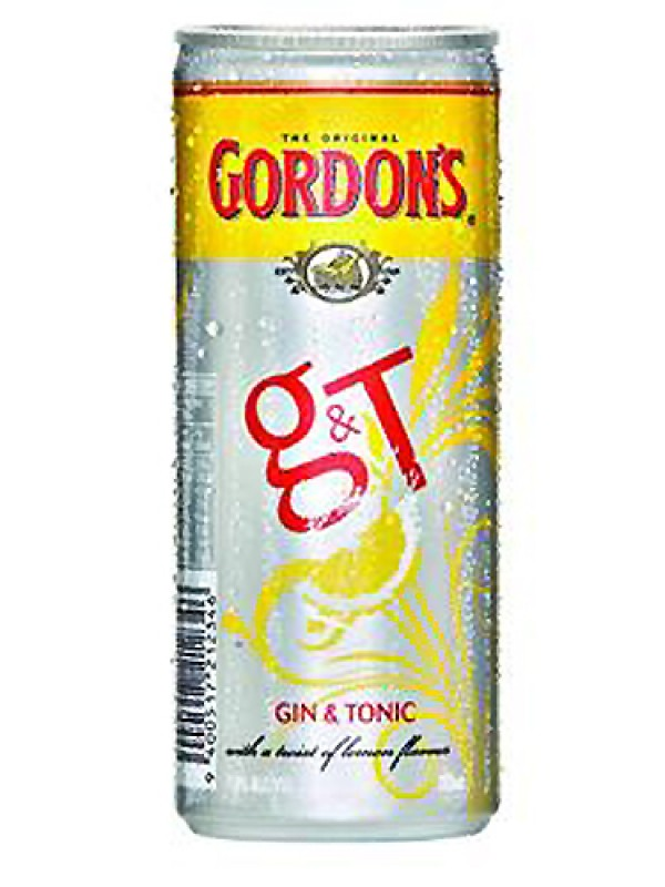 Gordon's Gin & Tonic 250ml 6 pack cans