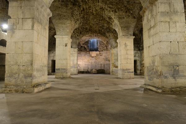 Rustic Underground Room