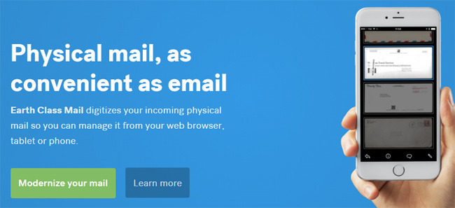Earth Class Mail screenshot