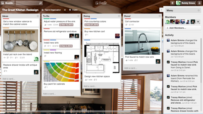 Trello Desktop screen shot