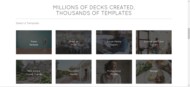 Haiku-Deck Templates available