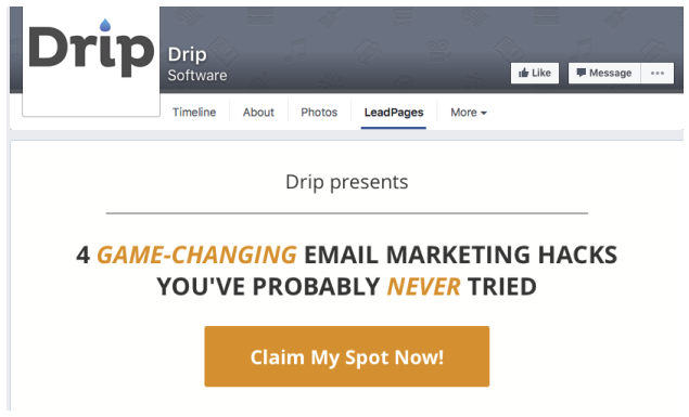 drip-facebook-funnel-tip