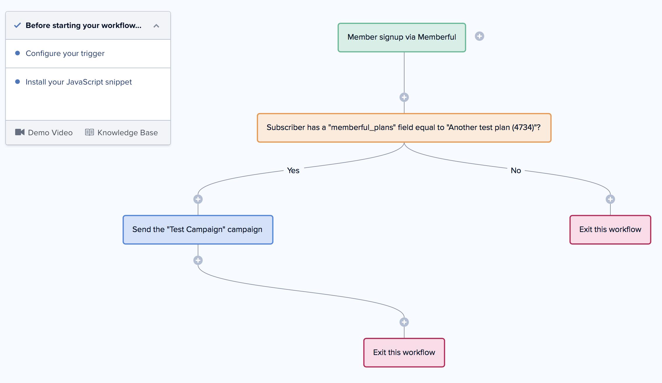 Drip and Memberful Integration Screenshot