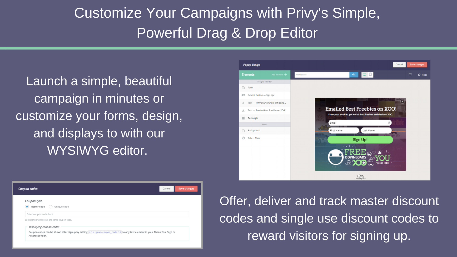 Drip and Privy Integration Screenshot