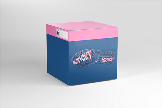 Open virtual Sticky Kicks box