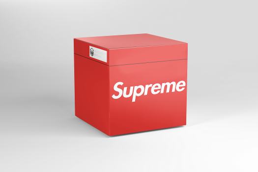 Open virtual Supreme Collection box