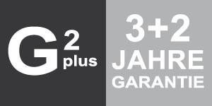 3+2 Jahre Garantie