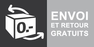 Envoi et retour Gratuits