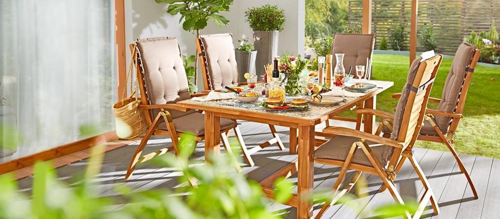 Gartenmöbel im Quelle Online Shop