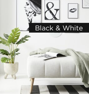 Wohntrend Black & White
