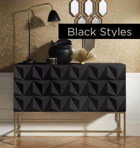 Wohntrend Black Styles