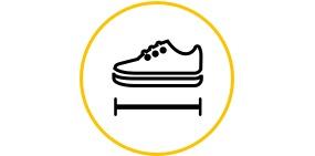 Schuhgrößen-Beratung