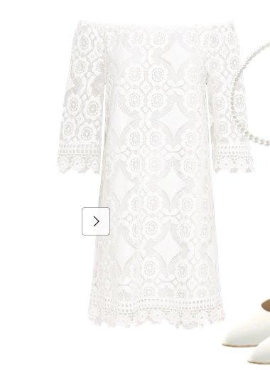 Weiße Kleider
