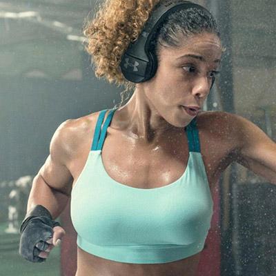 Fitness für Zuhause Kopfhörer