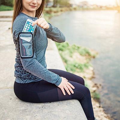 Fitness für Zuhause Sportarmband für Smartphones