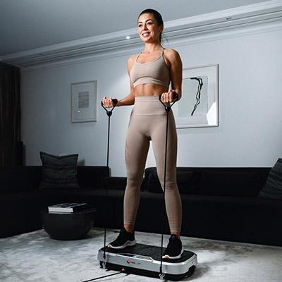 Fitness für Zuhause Vibrationsplatten
