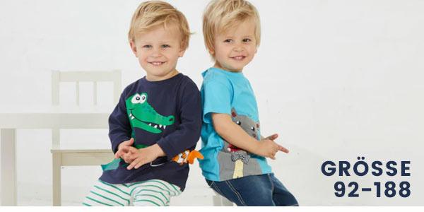 Jungenmode in den Grössen 92-188 online bestellen