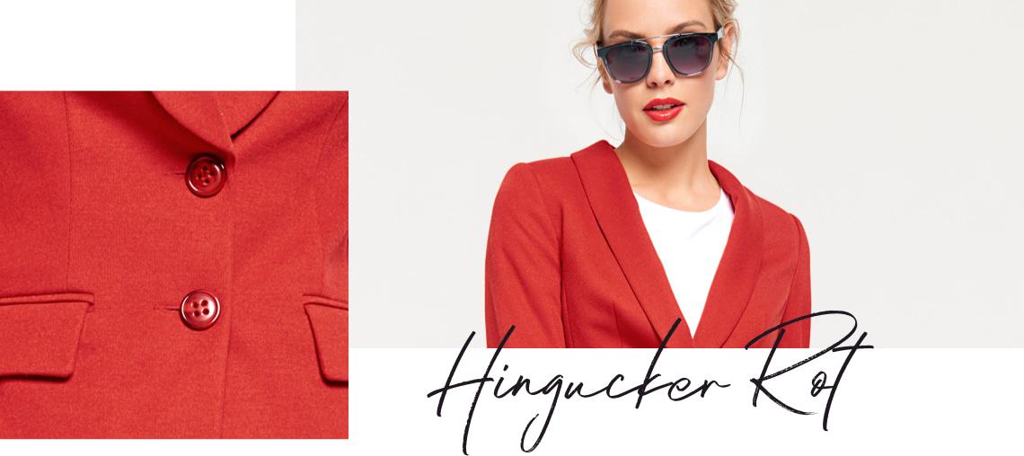 Hingucker rot