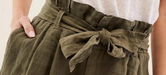 Was ist eine Paperbag-Hose?