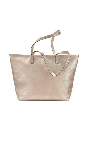 Metallicfarbene Taschen