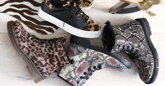 Animalprint Schuhe