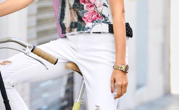 Weiße Hosen stylen