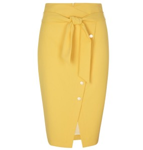 Gelbe Midiröcke