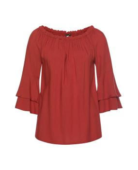 Rote Blusen