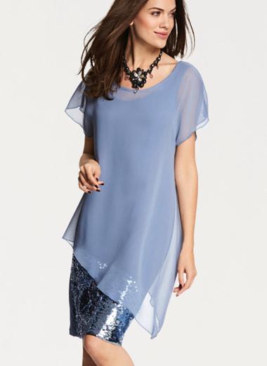 Blaue Kleider