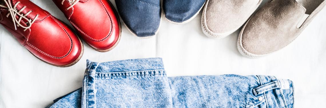 Schuhe zu Jeans