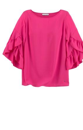 Pinke Blusen