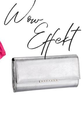 Silberne Taschen
