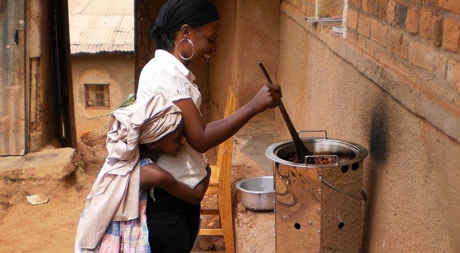Ofen-Projekt für Ruanda