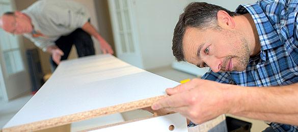 Möbel-Aufbauservice: Sparen Sie sich die Arbeit