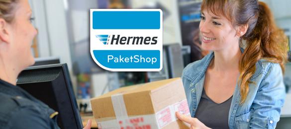 Lieferung an einen Hermes PaketShop