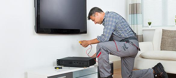 TV-Aufstell- und Anschluss-Service