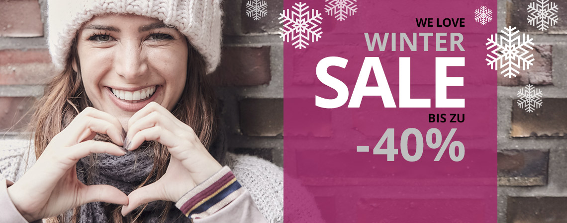 Winter SALE bei I'm walking